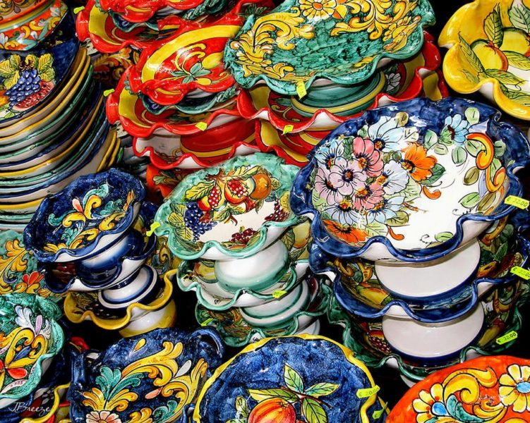Ceramiche vietri estate inpsieme vacanze studio inps